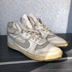 1988 Original Nike Court Force White Gray Vintage